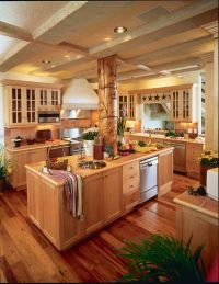Marble Counter Tops and American WoodMark Cabinetry