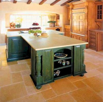 Your Denver Metro Construction Limestone Island Kitchen Counter Tops