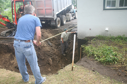 Your Denver Metro Construction Residential Excavation for Basement Retaining Wall