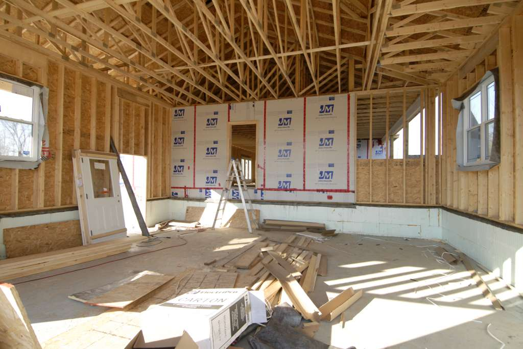 Your Denver Metro Construction Residential Interior Framework